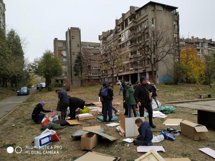 Kućice za pse, Novi Beograd