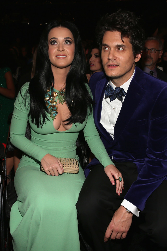 John Mayer i Katy Perry w 2013 roku