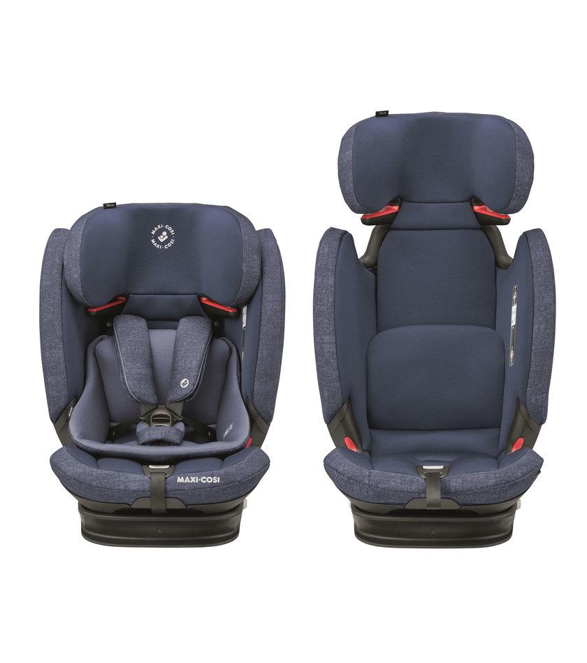 TitanPro – nowoczesny fotelik samochodowy dla dzieci w każdym wieku