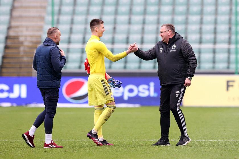 Trener warszawskiego klubu ma przede wszystkim znów wprowadzić zespół do Europy.