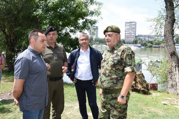 Vulin i Matić sa predstavnicima Vojske Srbije