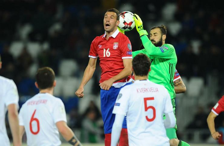 Fudbalska reprezentacija Srbije, Fudbalska reprezentacija Gruzije