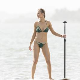 Joanna Krupa w bikini na Florydzie. Zrobiło się gorąco!