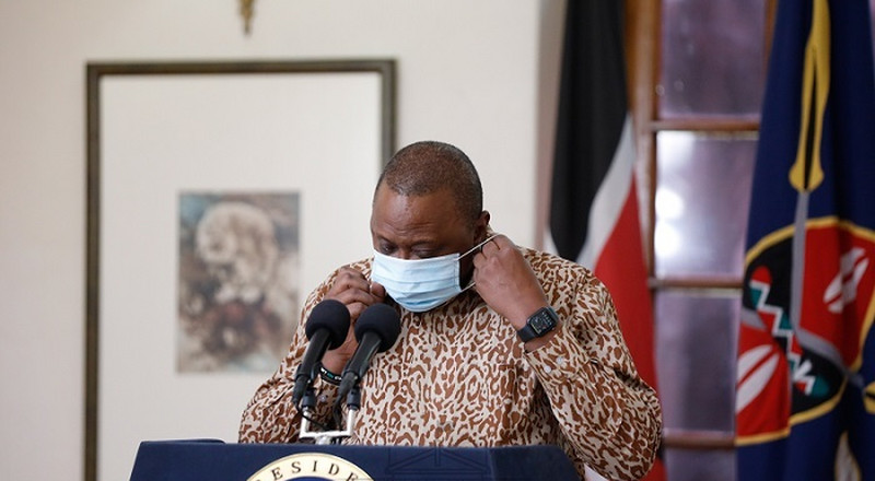 Uhuru bans CSs from travelling amid reports of Covid-19 within Cabinet