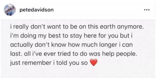 Polizei Bei Snl Pete Davidson Nach Selbstmord Tweet Von Ariana Grande Ex