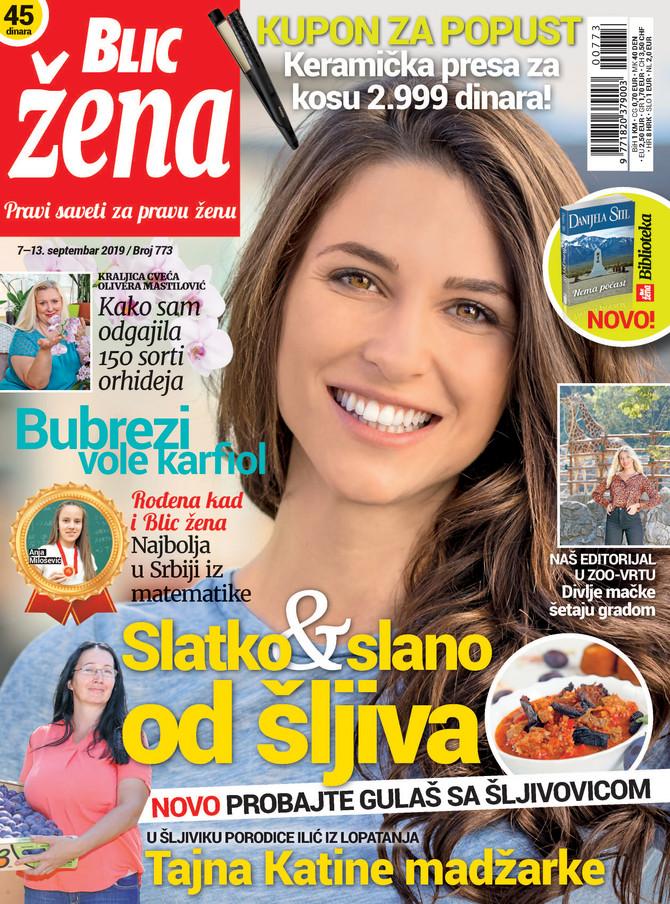 """Nova """"Blic žena"""" na kioske stiže u subotu 7. septembra"""