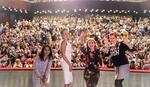 "Veliki uspeh naših glumica: Prva festivalska nagrada za predstavu ""Priča se po gradu"""
