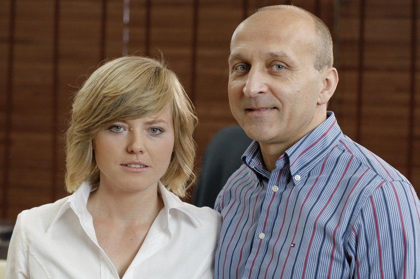 Izabela Olchowicz-Marcinkiewicz i Kazimierz Marcinkiewicz