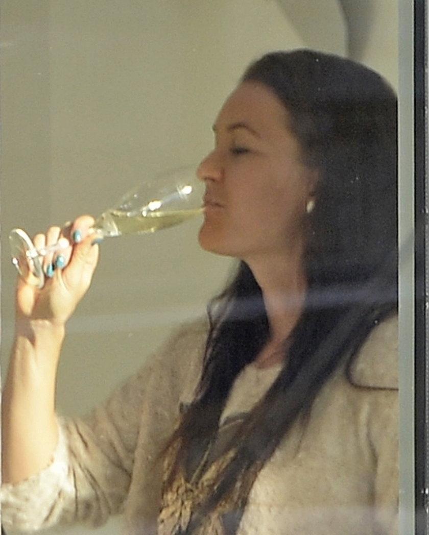 Agnieszka Radawańska świętuje sukces w butiku