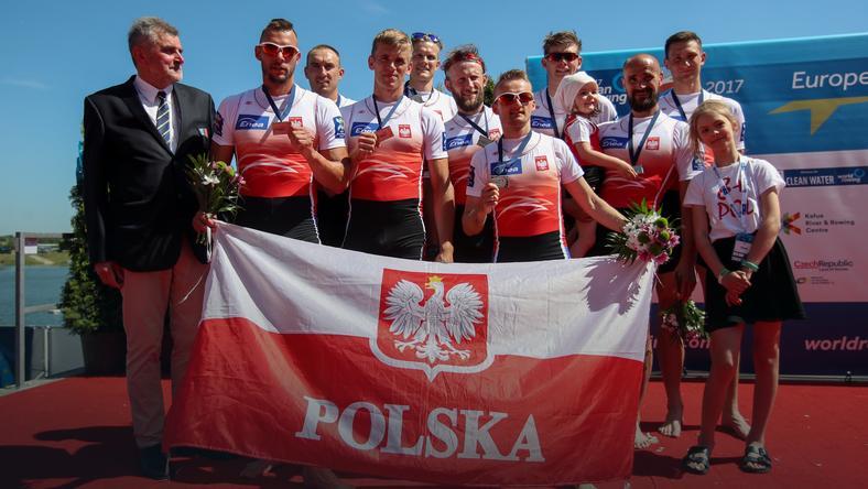 Polska ósemka ze srebrnym medalem