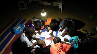 Living in the dark: 570 million people in Sub-Saharan Africa still don't have access to electricity