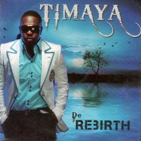 Cover art for Timaya's 2010 album, 'De Rebirth.' (360nobs)