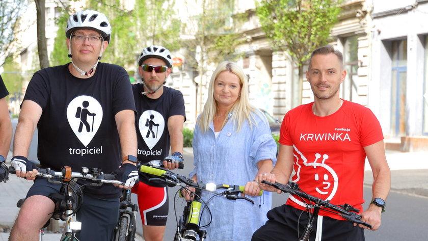 Czas na lover - akcja rowerzystów dla dzieci chorych na nowotwory