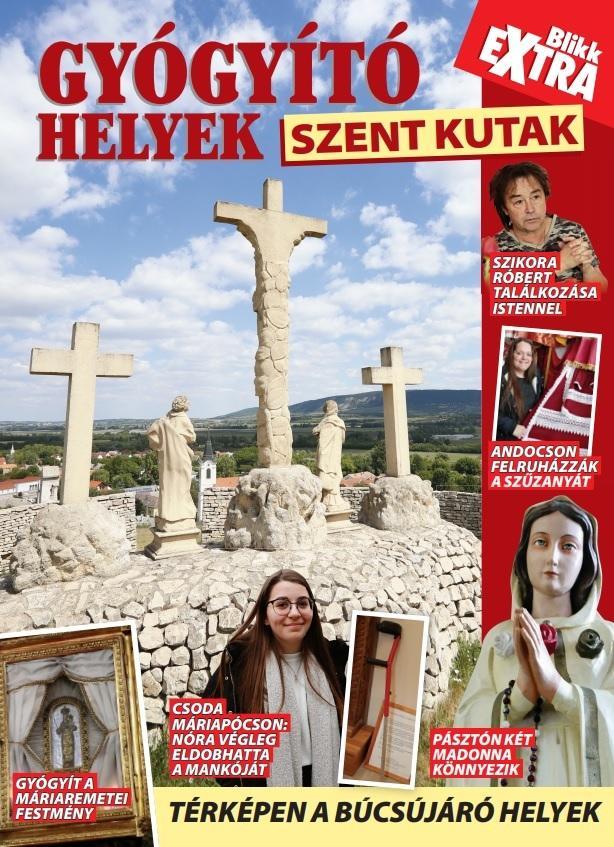 Gyógyító helyek - Szent kutak című kiadványunkat keresse pénteken az újságárusoknál!