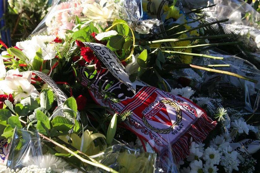 Pogrzeb kibica w Zielonej Górze