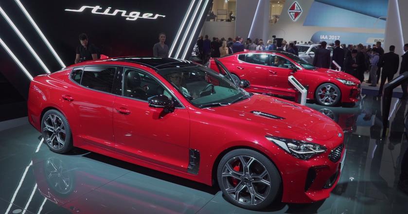 BI: Kia Stinger - nowe awangardowe i sportowe auto koreańskiej marki