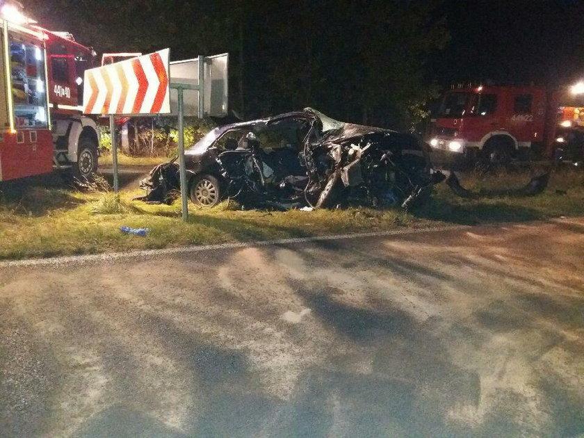 Tragiczny wypadek w w Miodnicy (woj. lubuskie)