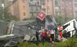 Włochy: Runął wiadukt na autostradzie. Rośnie liczba ofiar