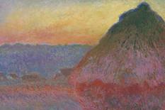 Klod Mone, Stog sena, 1891. promo christies