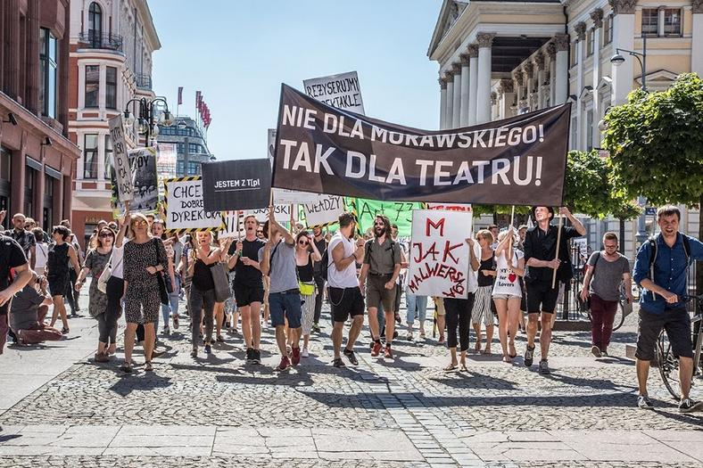 26 sierpnia 2016 roku, manifestacja przeszła ulicami Wrocławia, fot. Natalia Kabanow