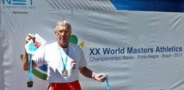 72–letni Polak został mistrzem świata!