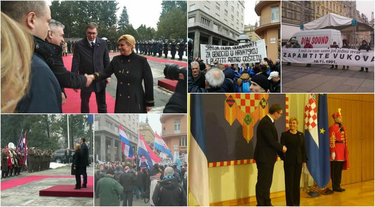 Aleksandar Vučić u Hrvatskoj