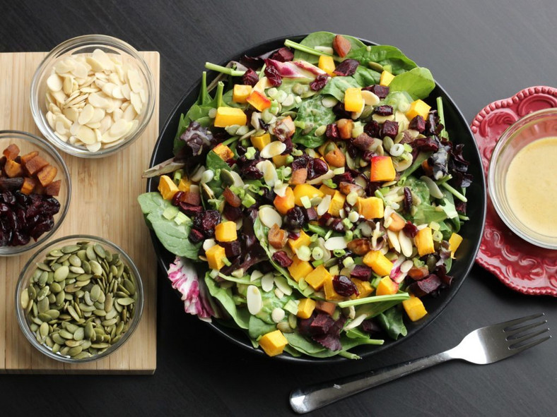 A bowl of vegetable salad [TryVeg]