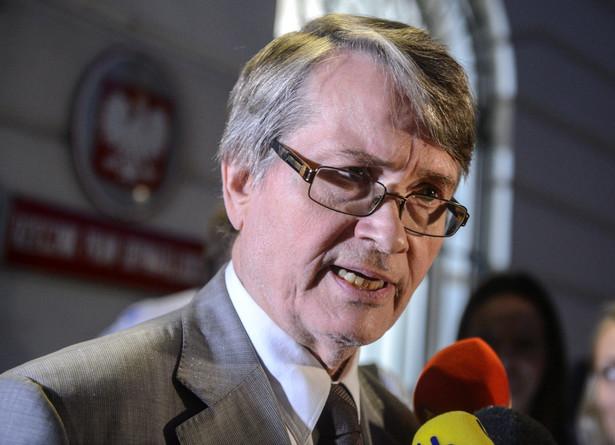Wiceprzewodniczący Komisji Weneckiej Kaarlo Tuori