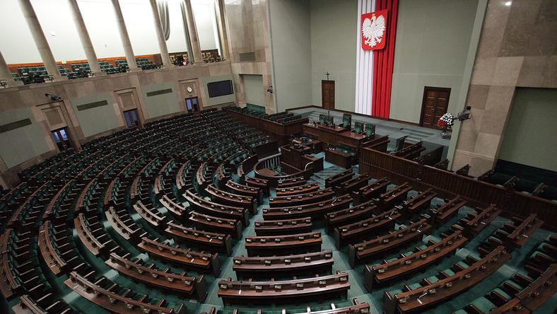 Sejm, fot. Maciej Stankiewicz/Onet.pl