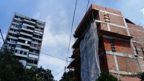 Građevina u Šibeničkoj