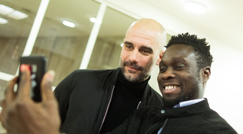 Nigerian journalist questions Pep Guardiola on his impact at Barcelona