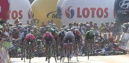 Dramat na finiszu Tour de Pologne! Są ranni! ZDJĘCIA
