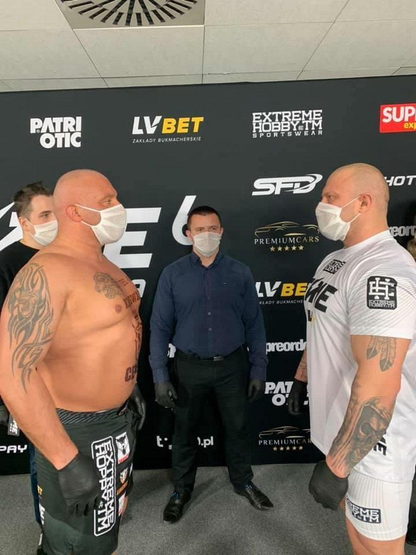 Marcin Najman walczył z Piotrem Piechowiakiem