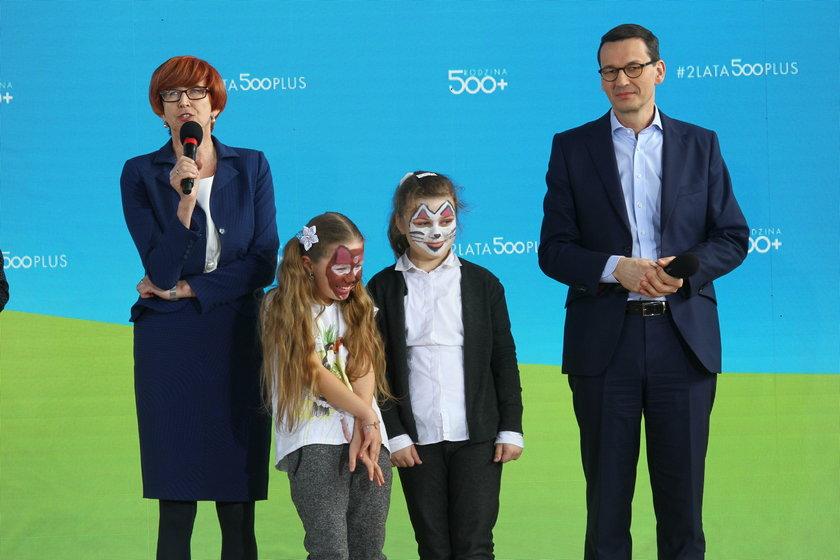 Rząd świętuje 500+ na Podkarpaciu