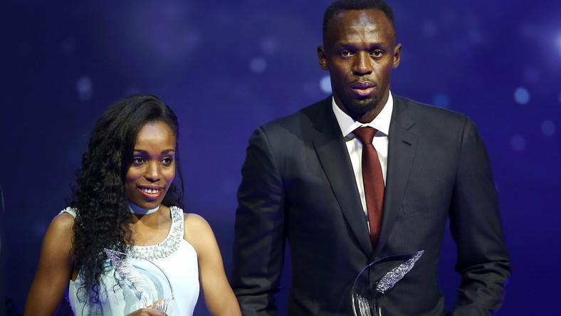 Almaz Ayana i Usain Bolt