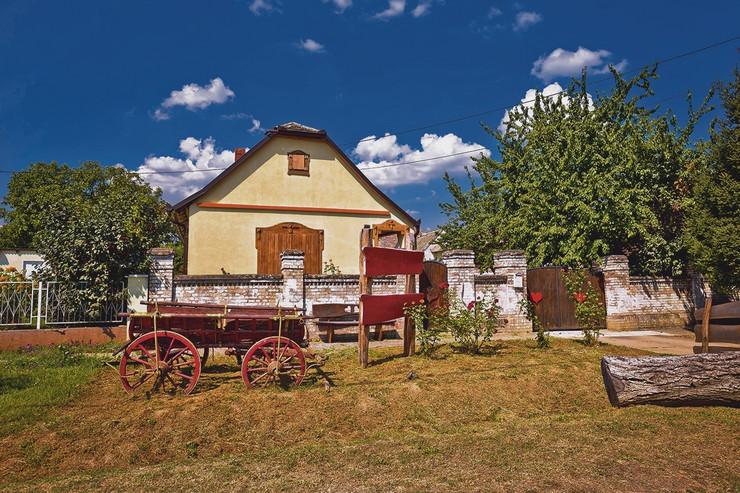 Seoski turizam, selo u Hrvatskoj, Baranja