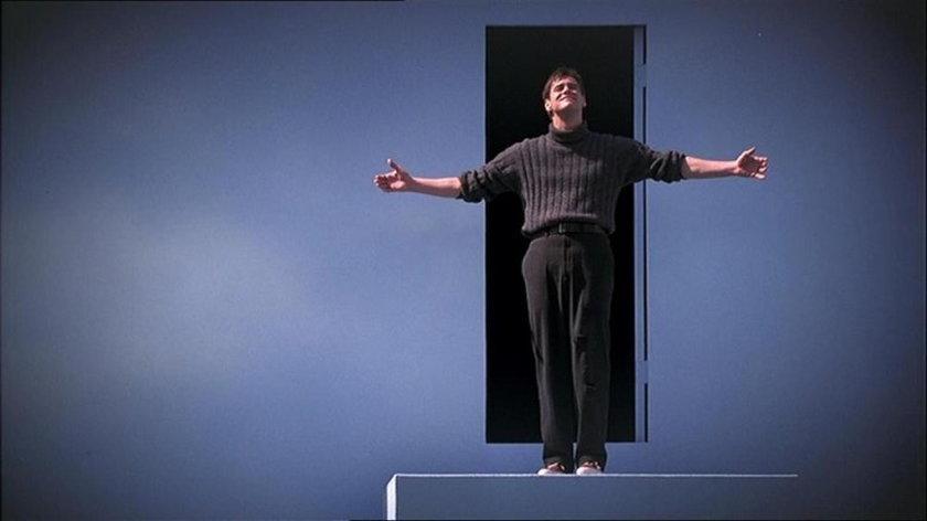 "Jim Carrey w ""Truman show"""