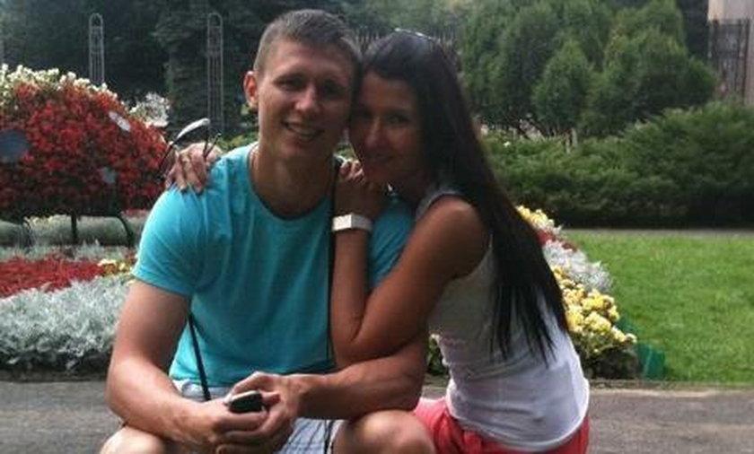 Maciej Jankowski z  żoną