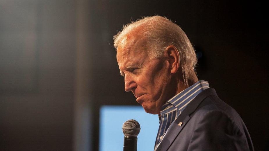 USA: Joe Biden skręcił kostkę. Trafił do specjalisty
