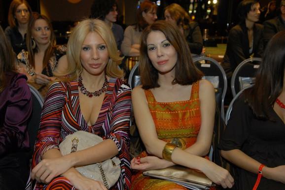 Sandra Perović sa Lenom Bogdanović