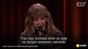 Taylor Swift żegna mamę prezentera. Wzruszający występ