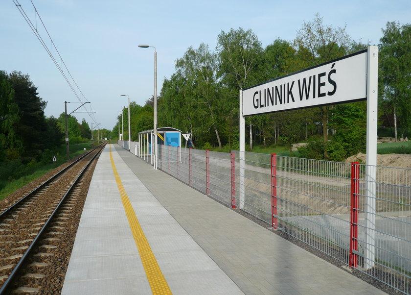 Przystanek kolejowy Glinnik Wieś