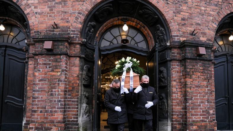 Pogrzeb Erwina Sówki