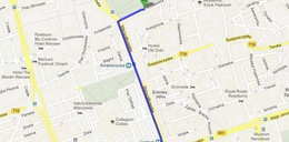 Google Maps kłamie! Wycina ulice, a później przez nie prowadzi