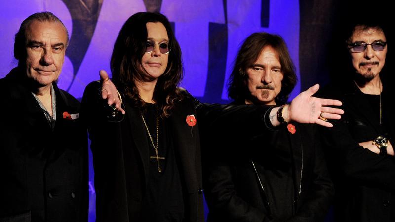 Bill Ward, Ozzy Osbourne, Geezer Butler i Tony Iommi