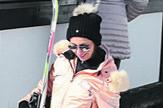 Suzana Perić pošla na skijanje
