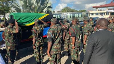 President Uhuru pay respect to Magufuli in special Saturday visit