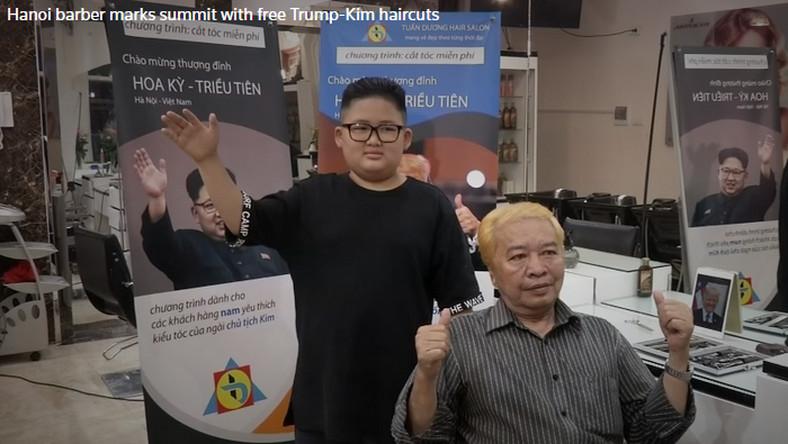 Wietnamski Fryzjer Oferuje Strzyżenie Na Trumpa I Kima By Uczcić