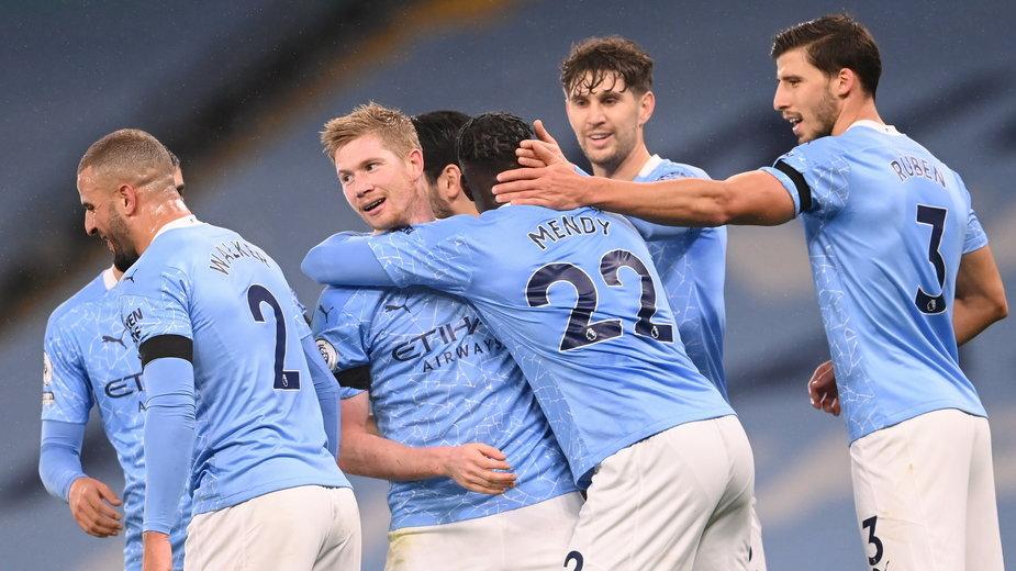 Radość piłkarzy Manchesteru City