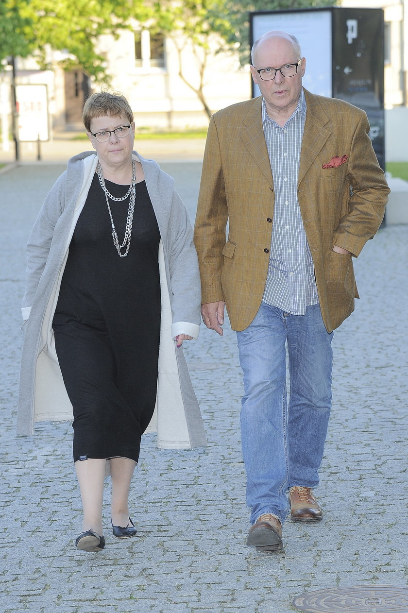 Ilona Łepkowska i Czesław Bielecki